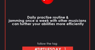 Tip Tuesday – Daily Practice and Weekly Jam with other Musicians