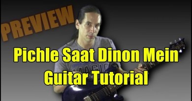 "Learn ""Pichle Saat Dinon Mein"" on Guitar – Tutorial"