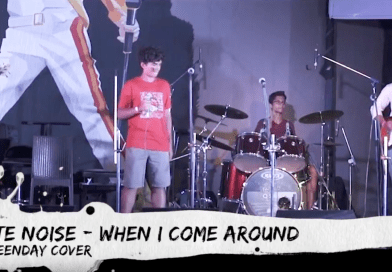 White Noise – When I Come Around Greenday Cover Live At 8th Annual Day on 24th June 2018