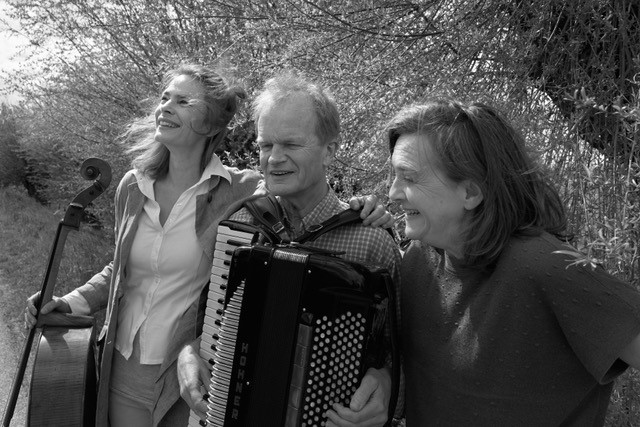 Sanne, Bert en Andrea