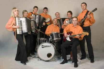 оркестр «Тагильские гармоники» 2008 г.