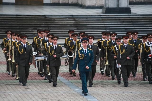 Военный Духовой оркестр Штаба Восточного регионального Командования Внутренних войск МВД России  г. Хабаровск