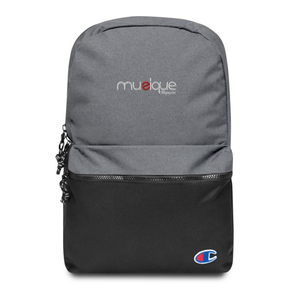 champion backpack heather grey black 5ff5eb6ae10c9