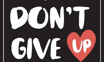 Share This Song 'Don't Give Up' and Help Saving Lives
