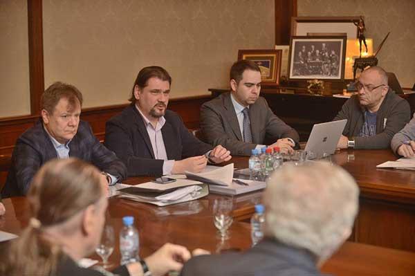 Новое руководство РАО провело первое рабочее заседание