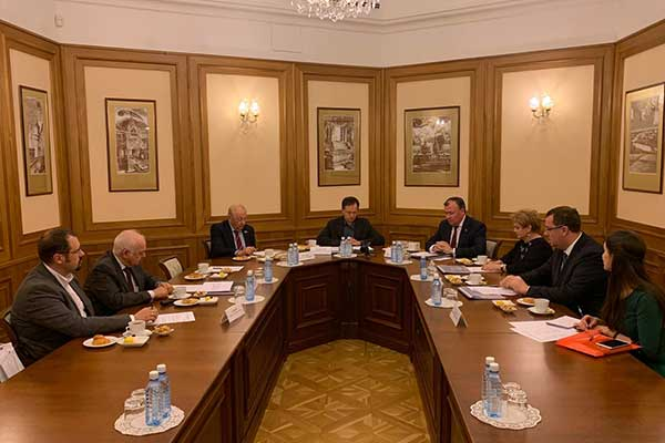 Министр культуры Российской Федерации находится с рабочим визитом в Екатеринбурге