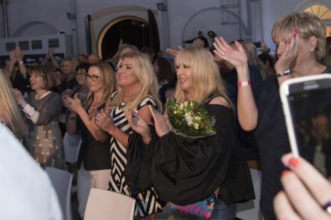 Beata Kozidrak i Maryla Rodowicz podczas koncertu De Mono