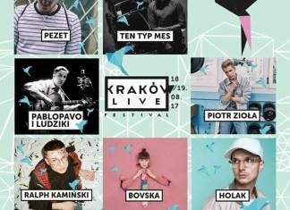 Kraków Live Festival 2017 - Znamy listę wykonawców z kraju i ze świata!