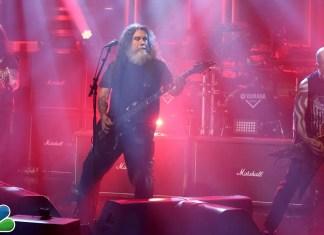 """Slayer gra w telewizji (zobacz występ na żywo """"Raining Blood"""")"""