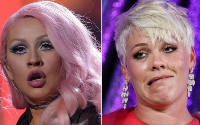 Christina Aguilera chciała zdzielić Pink! O co się pokłóciły?