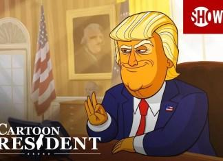 Donald Trump w animowanym serialu Our Cartoon President (WIDEO)