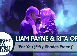 liam payne rita ora nowe oblicze greya Liam Payne i Rita Ora pocałowali się podczas występu! (WIDEO)