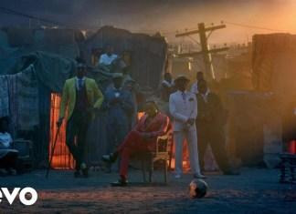 Kendrick Lamar i SZA w teledysku do filmu Czarna Pantera
