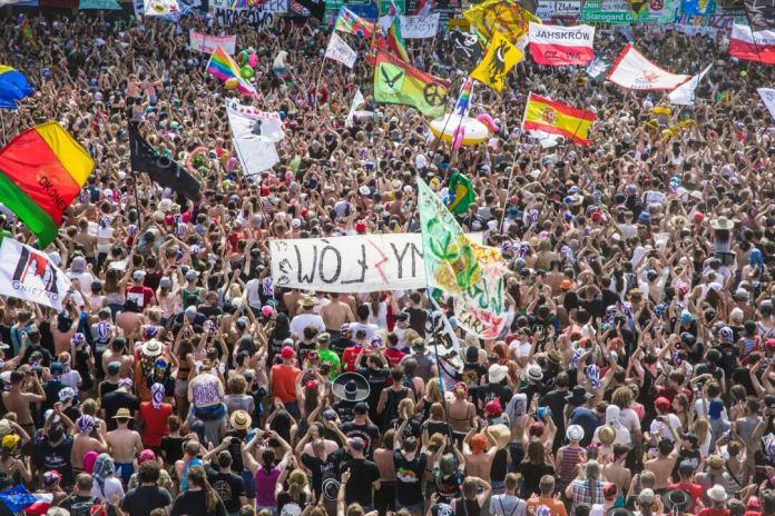 Trwa 24. edycja Najpiękniejszego Festiwalu Świata - Pol'and'Rock Festival