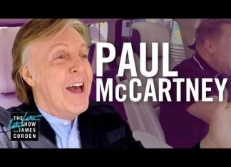 """Paul McCartney Jeszcze więcej """"Carpool Karaoke"""" z Paulem McCartneyem"""