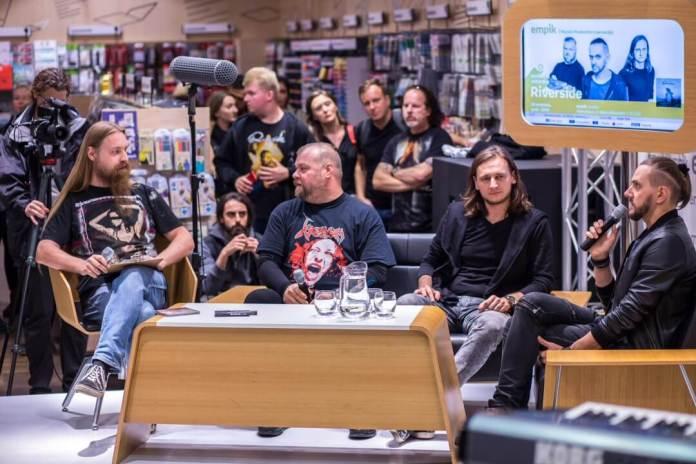 Tłumy fanów na spotkaniu z zespołem Riverside (ZDJĘCIA)