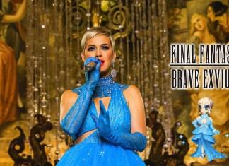 Katy Perry gra w Final Fantasy (WIDEO)