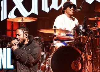 """Anderson .Paak z Kendrickiem Lamarem w """"Saturday Night Live"""