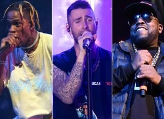 Big Boi, Maroon 5 i Travis Scott na jednej scenie
