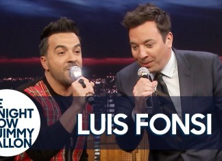 """Luis Fonsi pojawił się w programie """"The Tonight Show Starring Jimmy Fallon"""