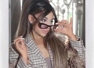 "Ariana Grande z Jimem Carreyem w serialu ""Kidding"""