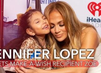 Jennifer Lopez spotkała się z wyjątkową fanką (WIDEO)