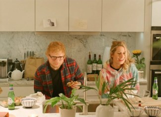 Ed Sheeran, jego żona, Ella Mai i jej chłopak (WIDEO)