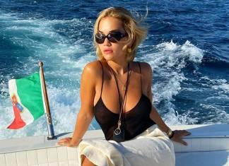 Rita Ora wspomina rajskie wakacje!