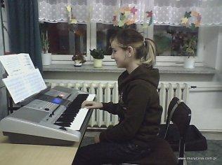 Przygotowanie do popisu - Natalka Sadowy