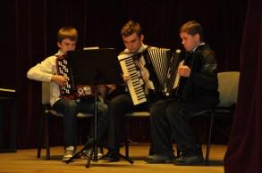 24. Zespół akordeonowy - A. Olejarz, M. Korytko, Sz. Pupka