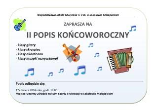 II Popis w Sokołowie Małopolskim
