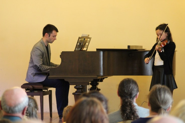 Uczestnicy V Przeglądu Szkół Muzycznych IMG_0917