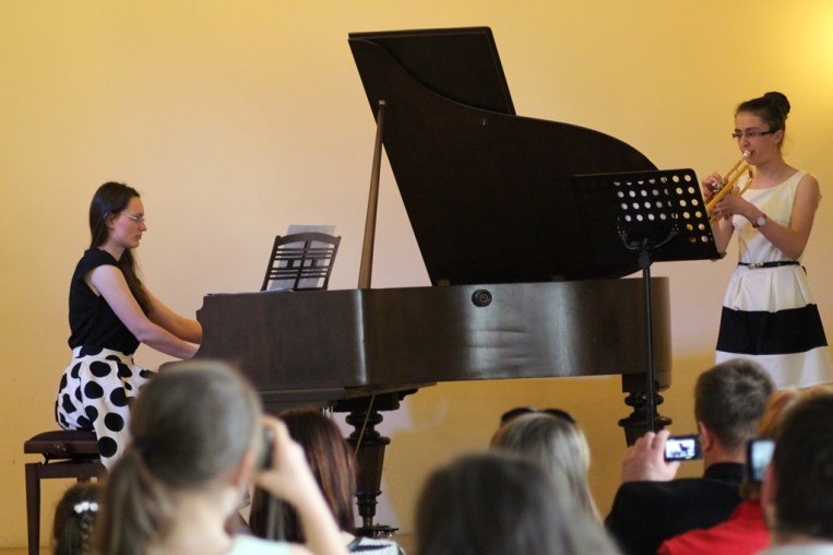Uczestnicy V Przeglądu Szkół Muzycznych IMG_1247