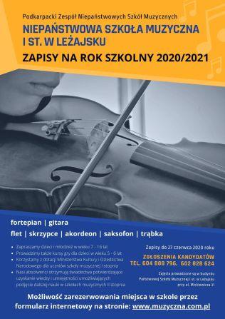 Plakat WWW - LEŻAJSK 2020