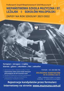 Plakat - LEŻAJSK i SOKOŁÓW 2021