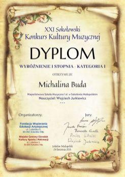 Dyplom - XXI SKKM (2)