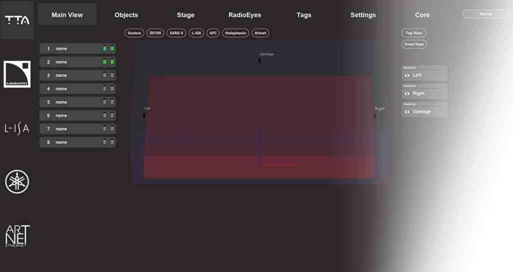 TTA Stagetracker II to system, który pozwala na precyzyjne śledzenie dźwiękiem, światłem i multimediami artystów lub obiektów na scenie.