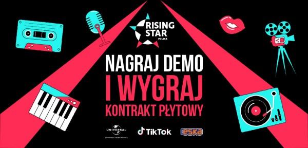 """Rising Star"" - rusza konkurs Universal Music Polska i TikTok"