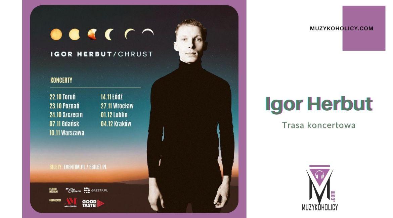 Igor Herbut wyrusza w trasę