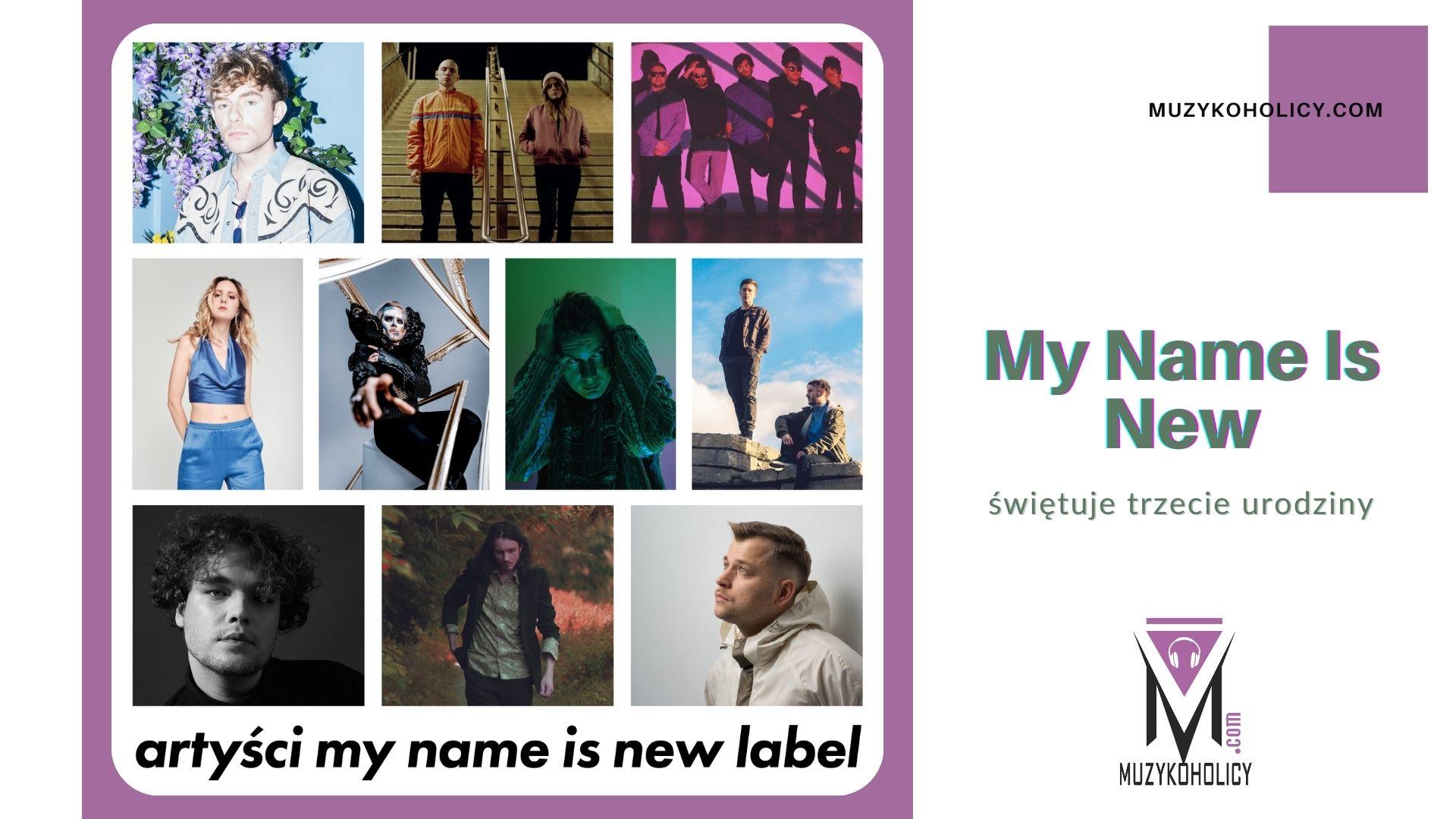 Projekt My Name Is New kończy 3 lata i ogłasza plany na najbliższą przyszłość