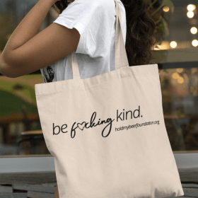 Be F*cking Kind tote