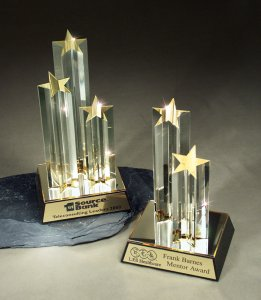 Crystal star column awards