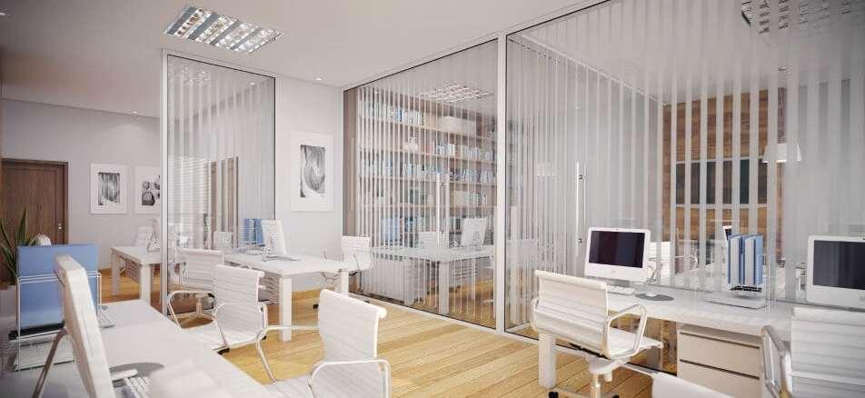 Perspectiva da sala pequena do Empresarial ITC Salvador