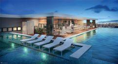 Perspectiva do Rooftop Lounge - Premium Stella Maris