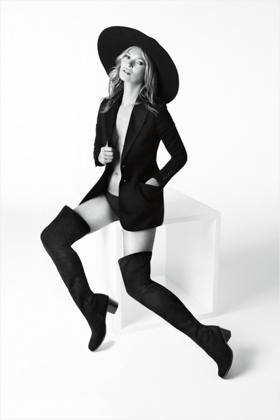 Kate Moss for Stuart Weitzman Fall Winter 2014-003
