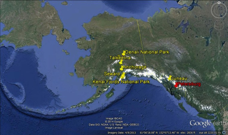 map of alaska mountain ranges » Pictures 4K HD | Fospo Pictures