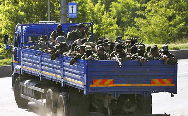 10 Donetsk Donbass Ukraine Kadyrovtsy gunmen terrorist Кто терроризирует Донецк?