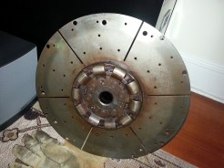 Old Damper Plate removed from boat