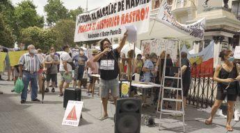 El Rastro Es Asi - Manifestacion en Cascorro por la reapertura de El Rastro de Madrid