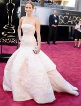 Jennifer Lawrence en Dior